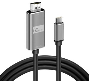 6ft-Type-C-USB-C-to-HDMI-4K-60Hz-Video-Adapter-Cable-For-HP-Samsung-Macbook-Dell