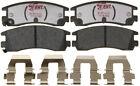 Disc Brake Pad Set-Enhanced Hybrid Technology Disc Brake Pad Rear Raybestos