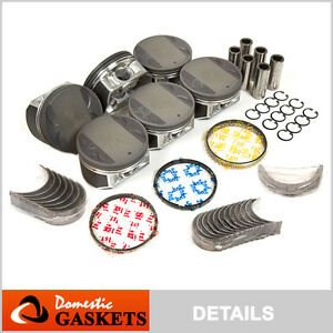 Fit-02-09-Nissan-Maxima-Murano-Infiniti-3-5L-Pistons-Bearings-amp-Rings-Set-VQ35DE