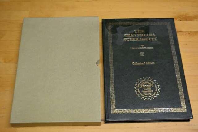 Greyfriars Suffragette, Richards, Frank, Excellent Book