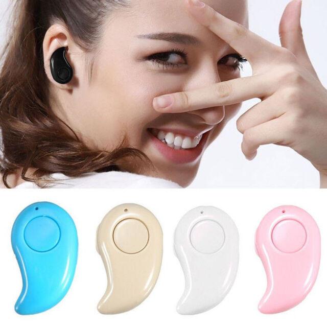 Super Mini Wireless Bluetooth Stereo Earpiece In-Ear Earphone Headphone Headset