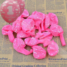 20X Cloud baby pink Latex Balloons 1st B-day First Birthday Party Decorations