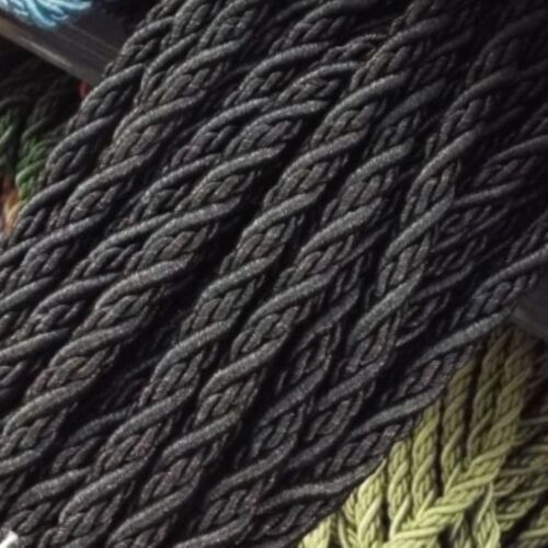 CLEARANCE 16 COLOUR Quality 8mm Cord Upholstery Cushion Costume Rope BUY 1 2 4m