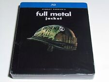 FULL METAL JACKET BLU-RAY STEELBOOK LIMITED EDITION IMPORT NEW STANLEY KUBRICK