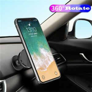 Dashboard 360° Magnetic Car Mount Holder Stand For Cell Phone GPS Universal US