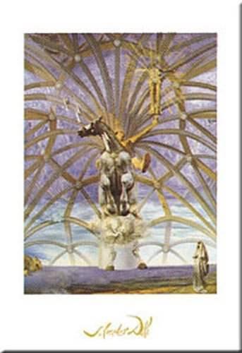 Santiago El Grande by Salvador Dali 20x16 Museum Art Print Poster