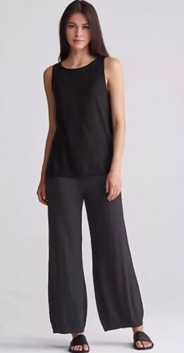 lavabile Fisher 3x lavabile lana Rye Eileen Nwt in Pantalone elasticizzato Deep EYYwBO4q