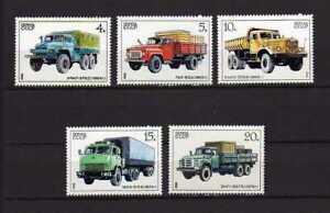 15188) Russia 1986 MNH New Trucks