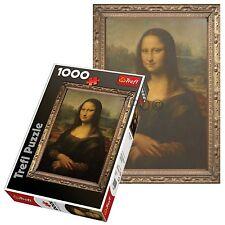 Trefl 1000 Piece Adult Large Mona Lisa Da Vinci Art Painting Floor Jigsaw Puzzle