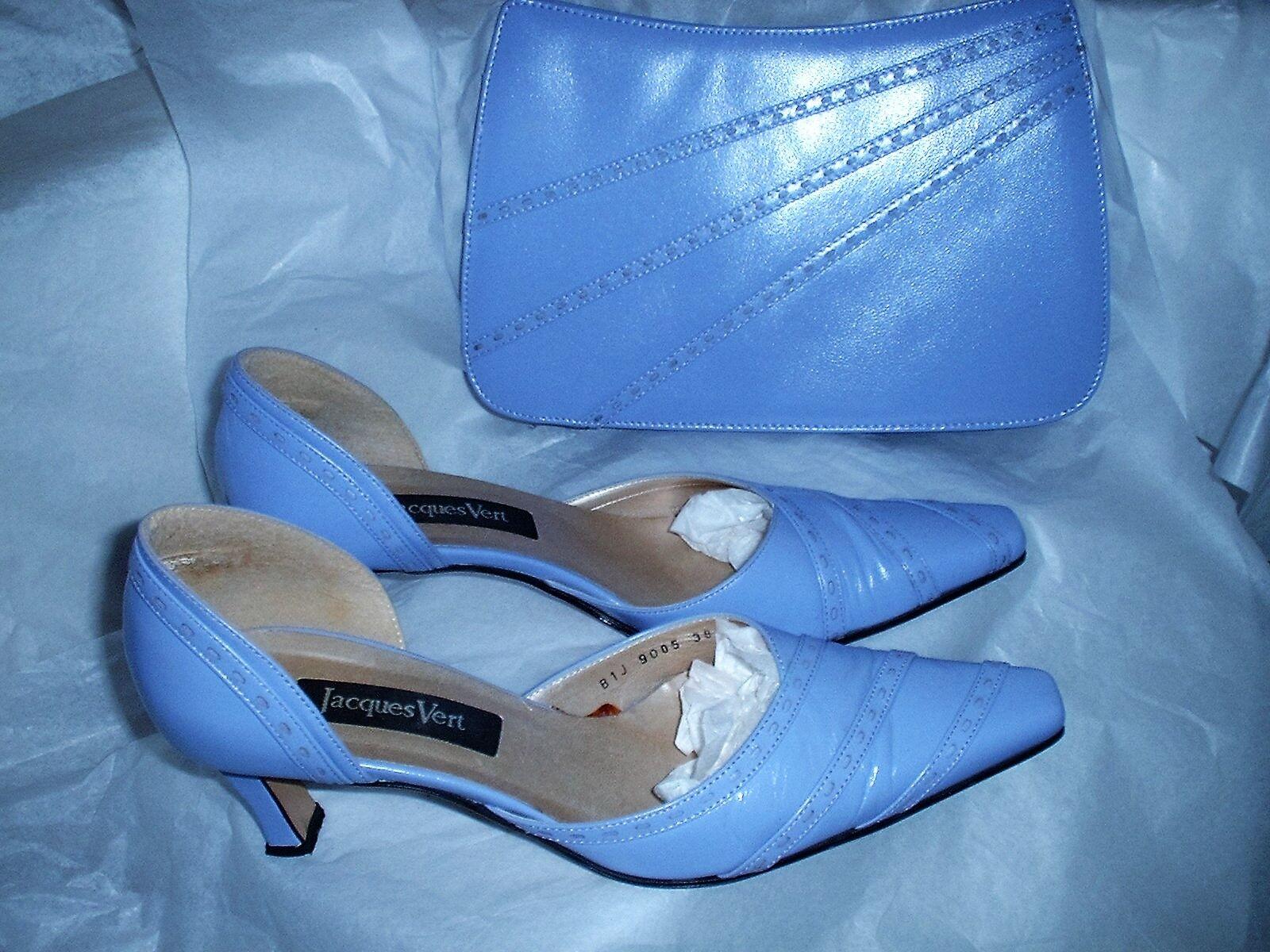 JACQUES Vert scarpe & corrispondenza Pochette Taglia 5 (EU 38) lilla *