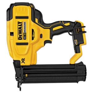 DEWALT-20V-MAX-18-Gauge-Cordless-Brad-Nailer-Bare-Tool-DCN680B-New