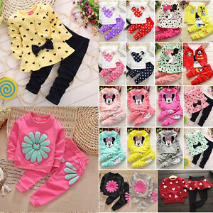 Baby-Girls-Outfits-Set-Kids-Winter-Clothes-Minnie-Princess-Hooded-Top-Pants-Cute