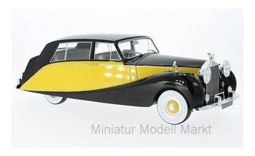 gelb #18066 1956-1:18 MCG Rolls Royce Silver Wraith Empress by Hooper