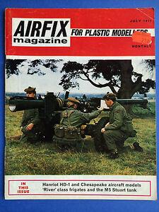 Airfix-Revue-Juillet-1971-pour-Plastique-Modelisateurs-Modeles-Hobby-Craft
