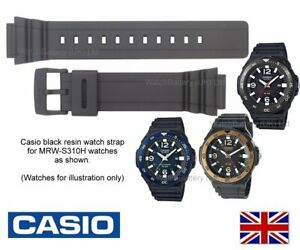Genuine CASIO bracelet de montre bande pour MRW S310H, MRWS  KV3VD