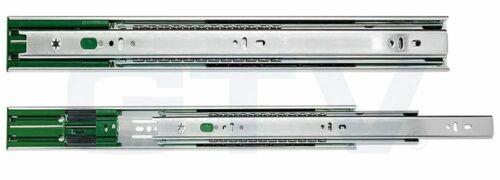 Soft Close Drawer Runners/SLIDES GTV Extension complète plus - 45 mm Roulement à billes