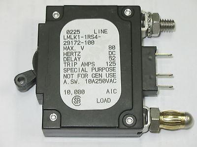 AIRPAX LMLK1-1RS4-29172-100 100A CIRCUIT BREAKER BRAND NEW