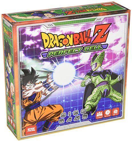 IDW Games IDW01421 DRAGONBALL Z PERFETTO gioco da tavolo Cella