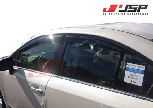 JSP Window Vent Deflector Rain Visor 2012-2018 Subaru Impreza WRX Sedan 218056