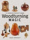 Woodturning Magic: 12 Ingenious Puzzles to Make by David Springett (Paperback / softback, 2015)