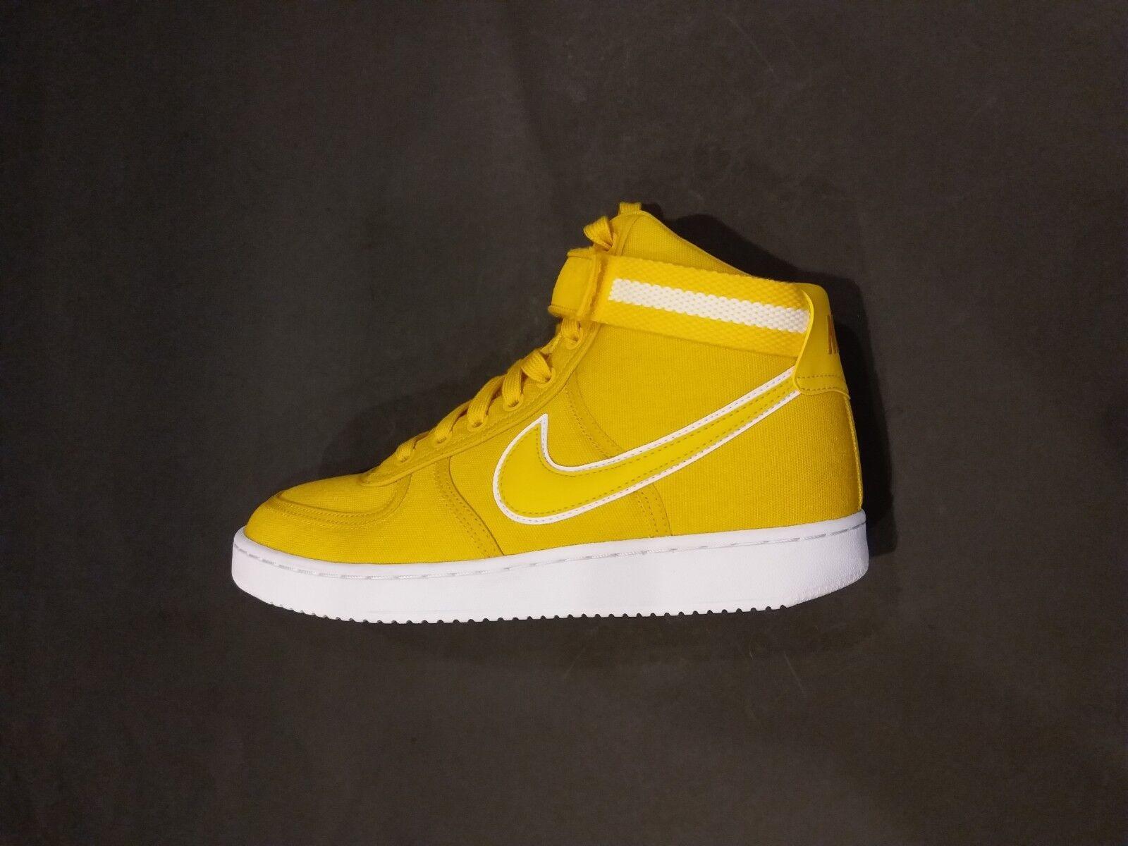 Nike Women's Vandal Hi Basketball shoes Yellow Yellow Yellow de0d5b