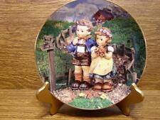 """M.J. HUMMEL PLATE - LITTLE CHAMPIONS COLLECTION - """"COUNTRY CROSSROADS"""""""