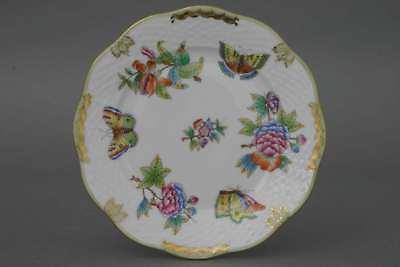 Herend PETERSILIE 517 PE KUCHENTELLER 19 cm ungenutzt Plate Dessertteller