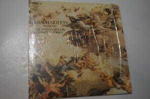 Bach-MOTETS-VOLUME-II-Sebastian-Forbes-Aeolian-Singers-London-STS-15187-NM
