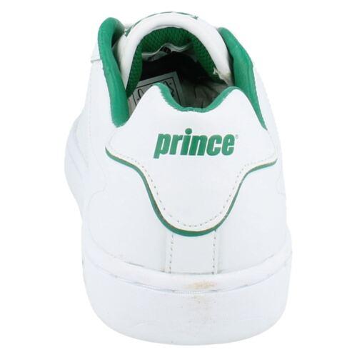 Herren Klassisch Weiß Beschichtet Leder Schnürschuhe von Prinz £19.99