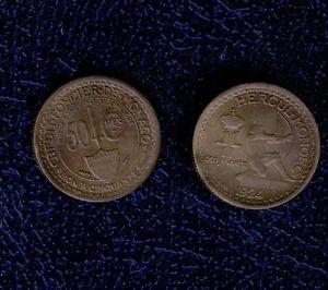 MONACO-50-CENT-1924-SPL-FDC-HERCUL-MONOEC-CREDIT-FONCIER-mrm