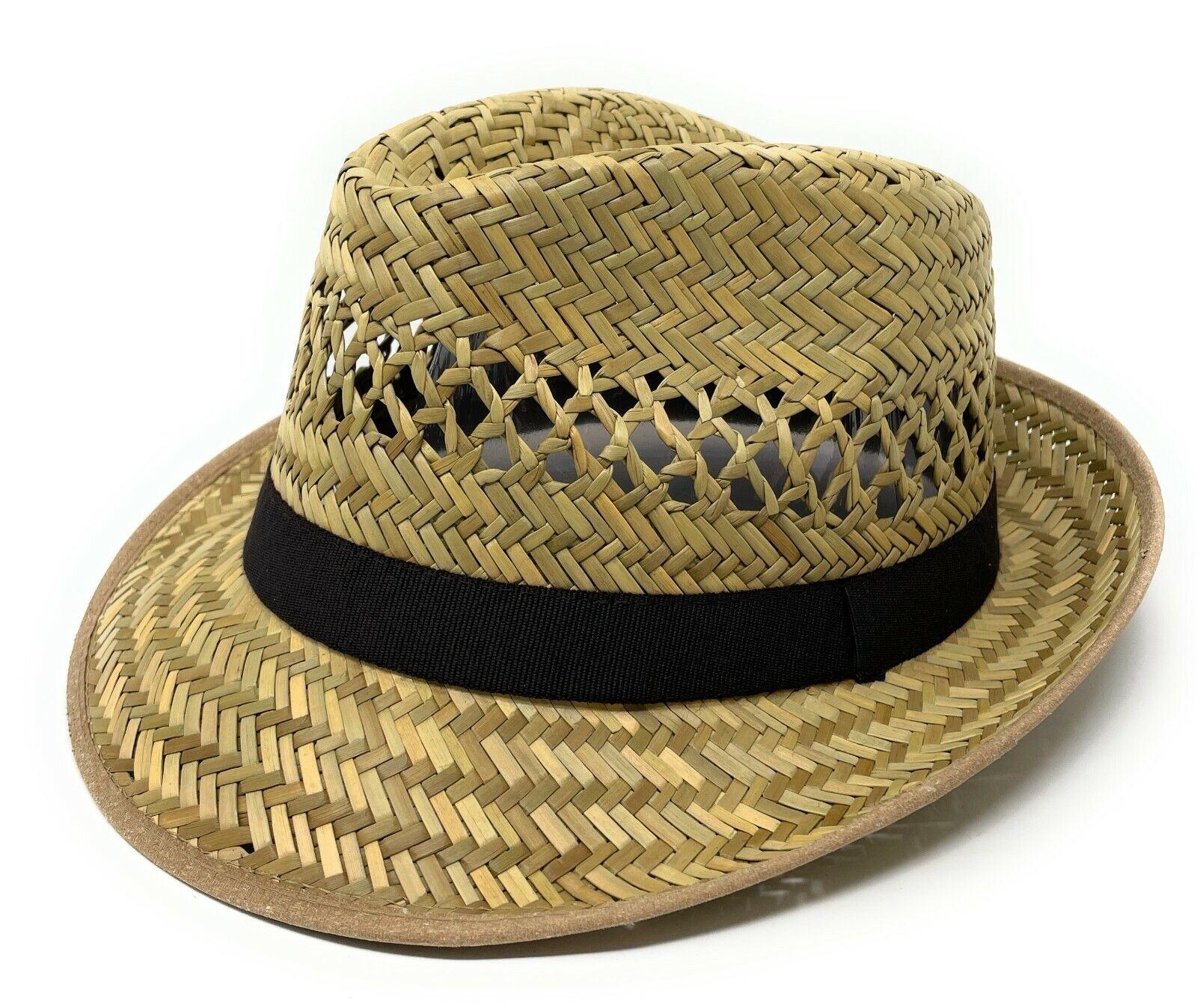 Straw Hat Summer Hat Trilby Hat Sun Hat erntehut Summer gartenhut Panama Hat