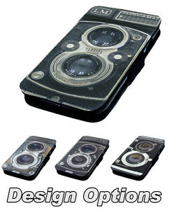 Camera-Designs-Printed-Faux-Leather-Flip-Phone-Cover-Case