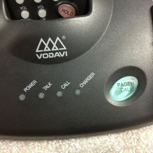 9018-75 VODAVI 2.4 Wanderer Cordless Phone w// Base /& Power Supply