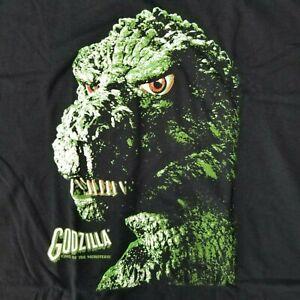 Godzilla-Men-039-s-XL-T-Shirt-Portrait-Licensed-Movie-Merch-Anti-Hero-Kaiju-Gojira
