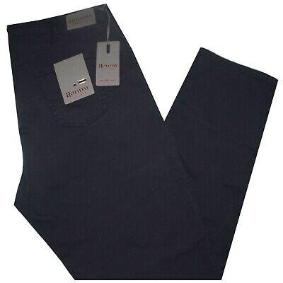 Acquista A Buon Mercato Pantalone Uomo Jeans Taglie Forti 62 64 66 68 Holiday Gabardin Strech Blu Frodo Fresco In Estate E Caldo In Inverno