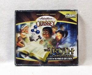 NEW-The-Truth-Chronicles-Adventures-in-Odyssey-Audio-CD-Vol-Set-Volume-AIO