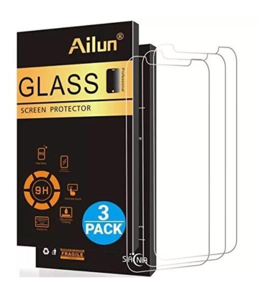 Estuche Protector de pantalla para iphone x de Vidrio templado Apple iphone x