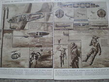 How the Vittorio Isacco telescopic airscrew might be used G H Davis 1946 prints
