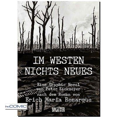 Im Westen nichts Neues Erich Remarque 1.Weltkrieg Graphic Novel COMIC LP 10er