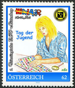 U) Personalized stamp day of youth TAG der JUGEND AUSTRIA 2014 girl collecting - Altenmarkt-Thenneberg, Österreich - U) Personalized stamp day of youth TAG der JUGEND AUSTRIA 2014 girl collecting - Altenmarkt-Thenneberg, Österreich
