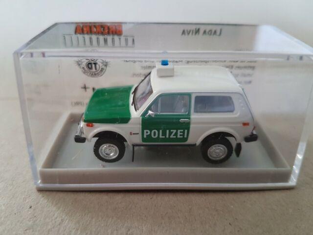Brekina Lada Niva Polizei