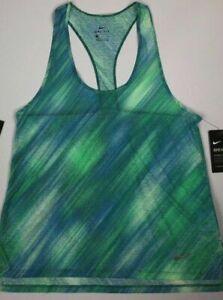 Nike Dri-Fit Women/'s Plus Size 1X Racer Back Top Shirt Teal Green Gym Yoga Run