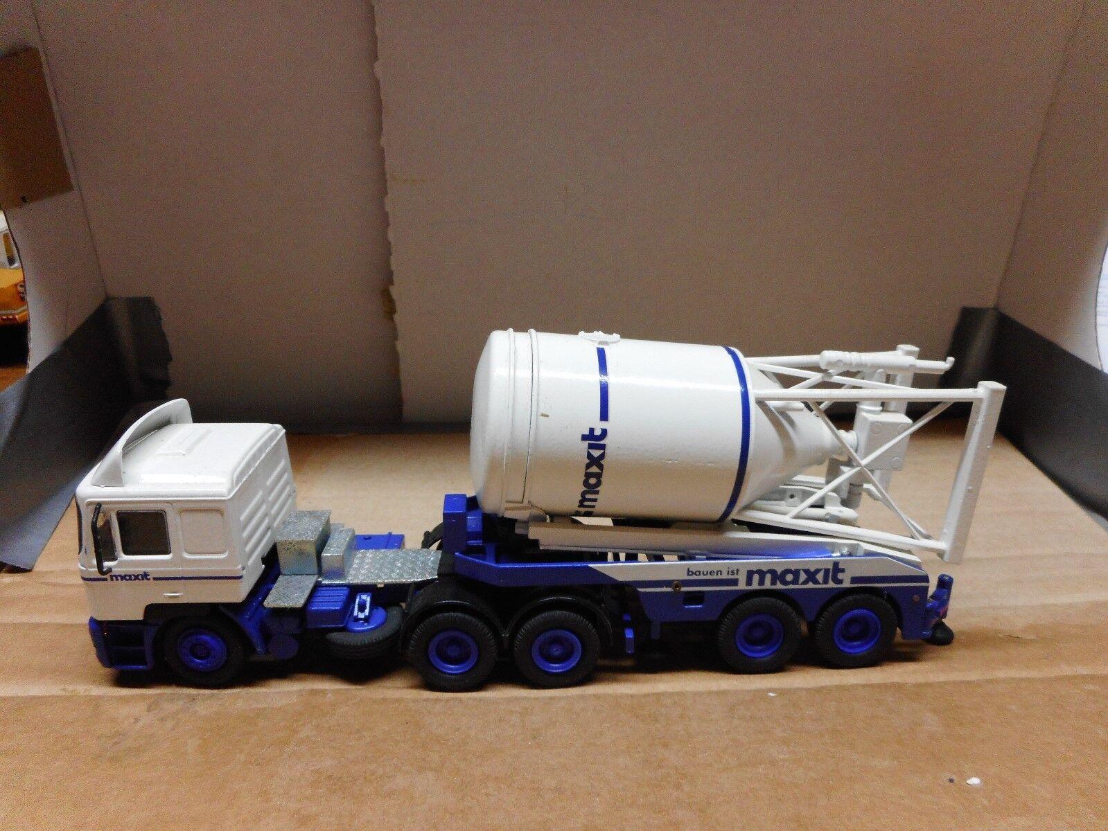 On F 90 3-Achser semi-remorque avec 2-Achser silos assiette. Neuf dans sa boîte. CONRAD Nº  6103.