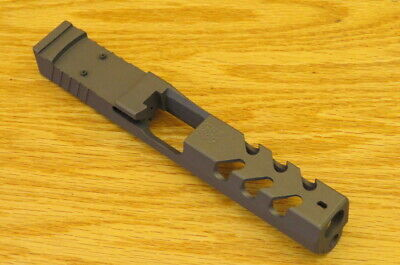 9mm RS2FS9-VORTEX VENOM Burnt Bronze Rock Slide USA Upper For Glock 17 GEN3