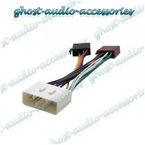 iso wiring harness connector adaptor stereo radio lead. Black Bedroom Furniture Sets. Home Design Ideas