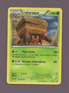 Pokémon Nr. 7/101 - Crabaraque - PV100 (B345)