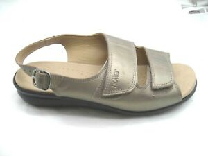 Hotter-8UK-10M-Easy-STD-bronze-brown-strappy-womens-ladies-comfort-sandals-shoes