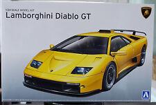 1999 Lamborghini Diablo GT, 1:24, aoshima 10501