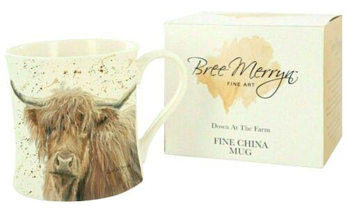Bree Merryn Becher Bonny Highland Cattle Hochlandrind Porzellan Fine China