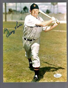 George Kell D.2009 Signed Autograph Detroit Tigers 8x10 Photo - JSA R31211